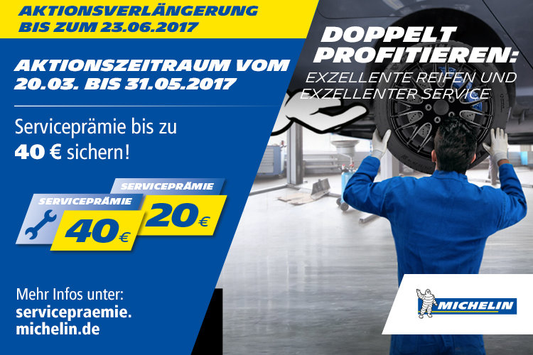 Michelin Sommerpromotion